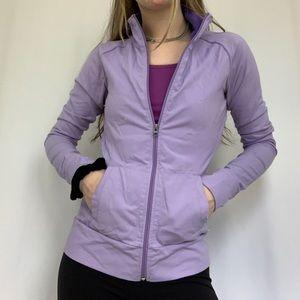 Purple Athletic Zip Up